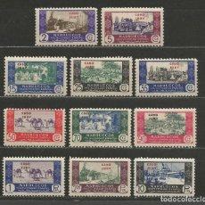 Sellos: CABO JUBY. Nº 162/72**. AÑO 1946. SELLOS MARRUECOS, COMERCIO. NUEVO SIN FIJASELLOS. MUY BONITOS.. Lote 294029083