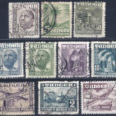 Sellos: TÁNGER. LOTE DE SELLOS DE 1948.. Lote 294041303