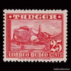 Sellos: ESPAÑA.TANGER.1948. AVIONES.25C.MNH.EDIFIL 167. Lote 294554543