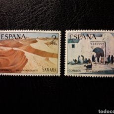 Sellos: SAHARA EDIFIL 310/11 SERIE COMPLETA NUEVA *** 1973 PINTURAS. PRO INFANCIA PEDIDO MÍNIMO 3 €. Lote 294981213