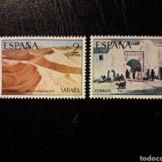 Sellos: SAHARA EDIFIL 310/11 SERIE COMPLETA NUEVA *** 1973 PINTURAS. PRO INFANCIA PEDIDO MÍNIMO 3 €. Lote 294981233