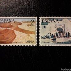 Sellos: SAHARA EDIFIL 310/11 SERIE COMPLETA NUEVA *** 1973 PINTURAS. PRO INFANCIA PEDIDO MÍNIMO 3 €. Lote 294981278
