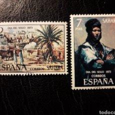 Sellos: SAHARA EDIFIL 312/13 SERIE COMPLETA NUEVA *** 1973 PINTURAS. PEDIDO MÍNIMO 3 €. Lote 294981393