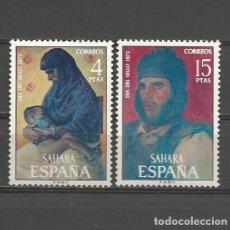 Sellos: SAHARA. Nº 308/09**. AÑO 1972. DÍA DEL SELLO. NUEVO SIN FIJASELLOS.. Lote 295529553
