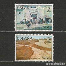 Sellos: SAHARA. Nº 310/11**. AÑO 1973. PRO INFANCIA. NUEVO SIN FIJASELLOS.. Lote 295529743