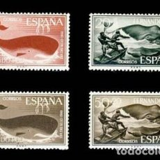 Sellos: FERNANDO POO EDIFIL 192-195 NUEVOS SIN CHARNELA MNH ** 1960 DÍA DEL SELLO. Lote 295882713
