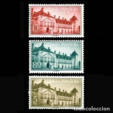 Sellos: GUINEA EDIFIL 347-349 NUEVOS SIN CHARNELA MNH ** 1955 TRATADO DE EL PARDO. Lote 295882863