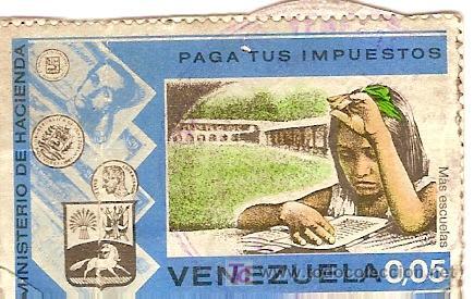 SELLO DE VENEZUELA. AÑOS 70. (Sellos - España - Colonias Españolas y Dependencias - América - Otros)