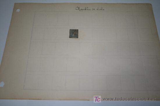 Sellos: SELLO CUBA 1877 ALFONSO XII - VALOR FACIAL 25 CÉNTIMOS DE PESETA - Foto 3 - 24859321