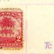 Sellos: LOTE TRES SELLOS CUBA PRINCIPIO S.XX - VALOR FACIAL 1, 2 Y 5 CENTAVOS. Lote 12976062