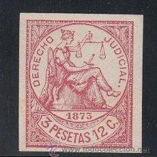 Sellos: ,ANTILLAS FISCAL CATALOGO FORBIN DERECHO JUDICIAL 49 SIN GOMA, DERECHO JUDICIAL 1873 . Lote 28449755