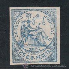 Sellos: ,ANTILLAS FISCAL CATALOGO FORBIN DERECHO JUDICIAL 46 SIN GOMA, DERECHO JUDICIAL 1873 . Lote 105724891
