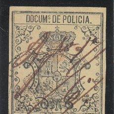 Sellos: ,ANTILLAS FISCAL CATALOGO FORBIN POLICIA 29 USADA, POLICIA 1867. Lote 27780091