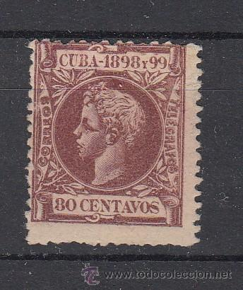 ,CUBA 171 SIN GOMA, ALFONSO XIII, (Sellos - España - Colonias Españolas y Dependencias - América - Cuba)