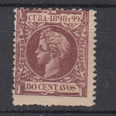 Sellos: ,CUBA 171 SIN GOMA, ALFONSO XIII, . Lote 27791347