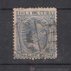 Sellos: ,CUBA 129 USADA, ALFONSO XIII, PELON. Lote 27801198