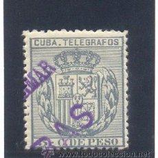 "Sellos: CUBA. EDIFIL 81M * ""MINISTERIO DE ULTRAMAR MUESTRA"". Lote 27868535"