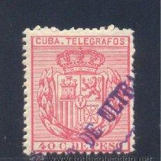 "Sellos: CUBA. EDIFIL TL 84M ""MINISTERIO DE ULTRAMAR MUESTRA"". Lote 27868635"