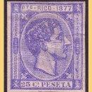 Sellos: PUERTO RICO 1877 ALFONSO XII, EDIFIL Nº 16S (*). Lote 28200917