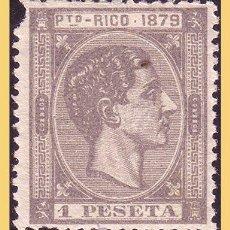 Sellos: PUERTO RICO 1879 ALFONSO XII, EDIFIL Nº 28 * *. Lote 28200994