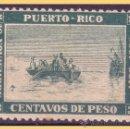 Sellos: PUERTO RICO 1893 DESEMBARCO DE COLÓN EN MAYAGUEZ, EDIFIL Nº 101 *. Lote 28207877