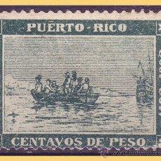 Sellos: PUERTO RICO 1893 DESEMBARCO DE COLÓN EN MAYAGUEZ, EDIFIL Nº 101 * *. Lote 28207879