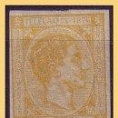 Sellos: PUERTO RICO TELÉGRAFOS 1876 ALFONSO XII, EDIFIL Nº 12S *. Lote 28216354