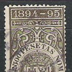 Sellos: 2141-SELLO CLASICO DEUDA CUBA 1894-1895.1,25 PESETAS VALOR EDIFIL 15,00€,SIN DEFECTOS. Lote 28876708