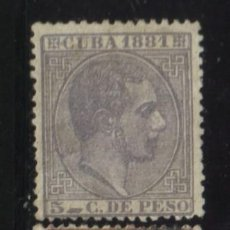 Sellos: S-4010- CUBA. ALFONSO XII. 1881. Lote 29588807