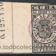 Sellos: 3409-SELLOS FISCALES CUBA COLONIA DE ESPAÑA AÑO 1894 PAGOS AL ESTADO.FISCAL,TERRITORIOS DE ESPAÑA E. Lote 31744690