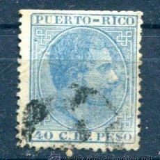 Sellos: EDIFIL 69 DE PUERTO RICO. LE FALTAN DIENTES... Lote 37074246