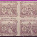 Sellos: FISCALES, PUERTO RICO 1894 Y 95 SELLO 13º 5 CTS. DE PESO LILA * * B4 FACTURAS 2ª DE EXPORTACIÓN. Lote 38337137