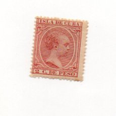 Sellos: ESPAÑA COLONIAS-CUBA 1894-EDIFIL 137- 2C. ROSA - NUEVO. Lote 38350273