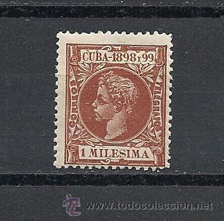 CUBA 1898, ALFONSO XII, EDIFIL Nº 154** (Sellos - España - Colonias Españolas y Dependencias - América - Cuba)
