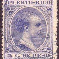 Sellos: PUERTO RICO. (CAT. 79). 3 CTO. MUY BONITO.. Lote 38971544