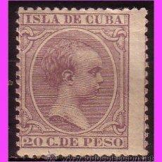 Timbres: CUBA 1896 ALFONSO XIII, EDIFIL Nº 151 * *. Lote 39288933