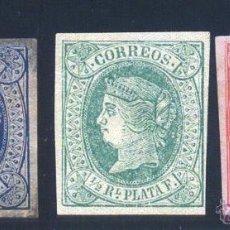 Selos: ISLA DEL CARIBE. EDIFIL 10/12 *. Lote 41541667