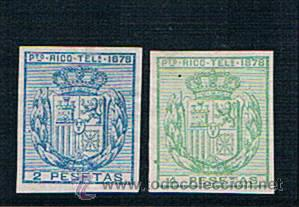 PUERTO RICO. TELEGRAFOS. 17/18* S/D. VALOR 128 € (Sellos - España - Colonias Españolas y Dependencias - América - Puerto Rico)