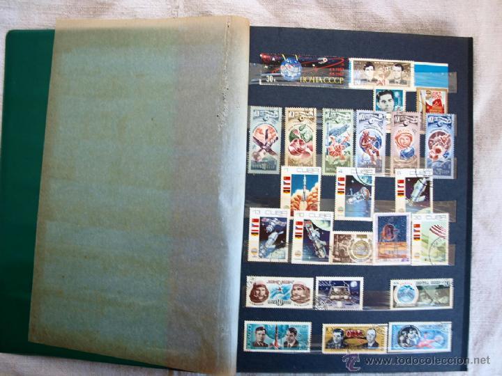 Sellos: Coleccion de Sellos de cuba y rusia, 350 sellos y ocho billetes. Cuba Rusia. Filatelia - Foto 3 - 43342186