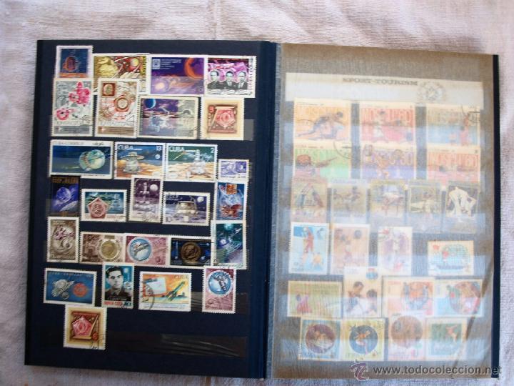 Sellos: Coleccion de Sellos de cuba y rusia, 350 sellos y ocho billetes. Cuba Rusia. Filatelia - Foto 4 - 43342186