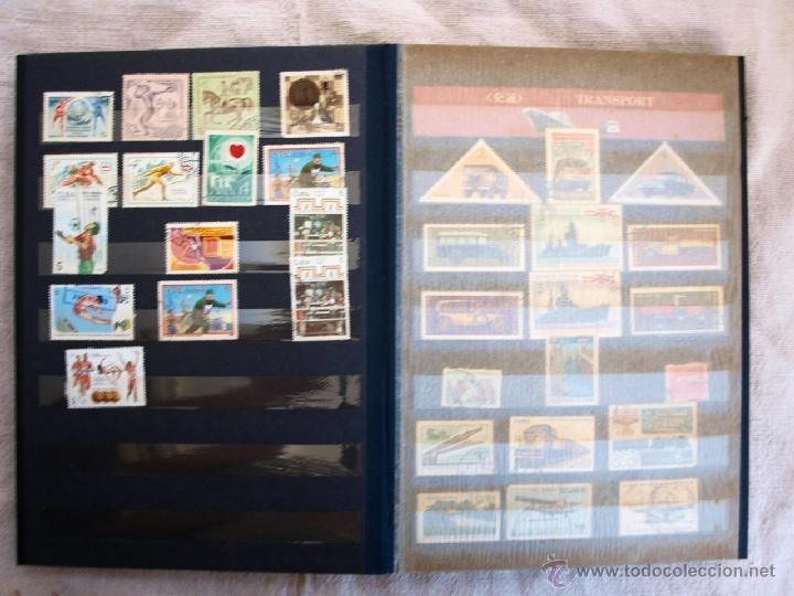 Sellos: Coleccion de Sellos de cuba y rusia, 350 sellos y ocho billetes. Cuba Rusia. Filatelia - Foto 5 - 43342186