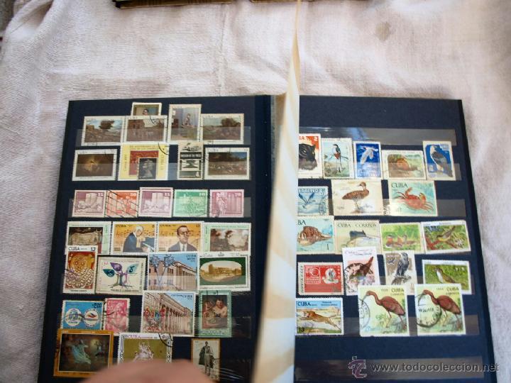 Sellos: Coleccion de Sellos de cuba y rusia, 350 sellos y ocho billetes. Cuba Rusia. Filatelia - Foto 7 - 43342186