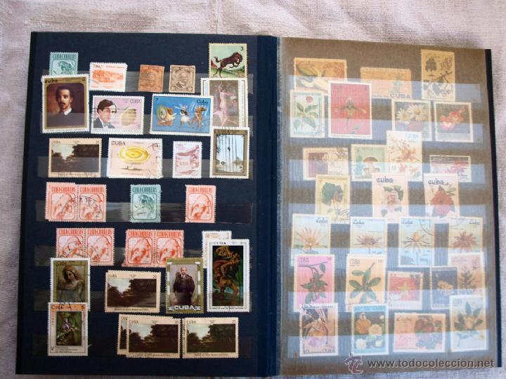 Sellos: Coleccion de Sellos de cuba y rusia, 350 sellos y ocho billetes. Cuba Rusia. Filatelia - Foto 8 - 43342186