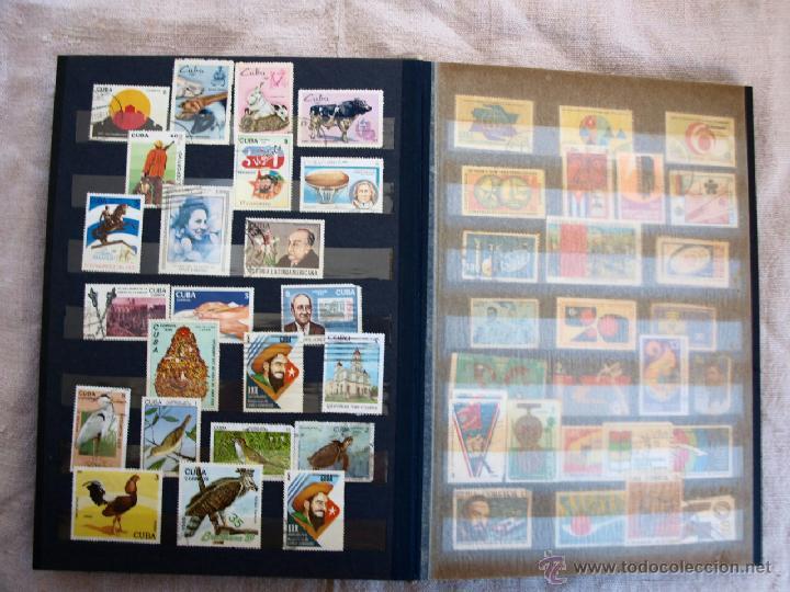 Sellos: Coleccion de Sellos de cuba y rusia, 350 sellos y ocho billetes. Cuba Rusia. Filatelia - Foto 9 - 43342186