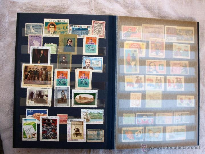 Sellos: Coleccion de Sellos de cuba y rusia, 350 sellos y ocho billetes. Cuba Rusia. Filatelia - Foto 10 - 43342186