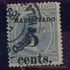 Sellos: CUBA YV Nº 127 O. SOBRECARGA TIPO I.. Lote 44851326