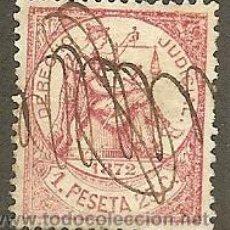 Sellos: FISCALES. ANTILLAS. DERECHO JUDICIAL 1 PESETA 25 CÉNTIMOS DE 1872. Lote 47545222