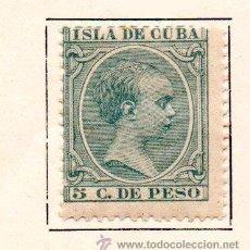 Sellos: CUBA-1891/92-EDIFIL 127-NUEVO-. Lote 49694860