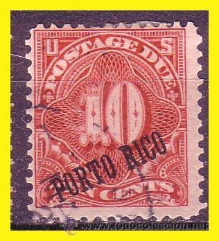 PUERTO RICO TASAS 1898 IVERT Nº 3 (O) (Sellos - España - Colonias Españolas y Dependencias - América - Puerto Rico)