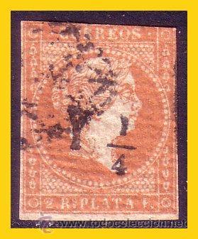CUBA 1860 ISABEL II, EDIFIL Nº 10 (O) (Sellos - España - Colonias Españolas y Dependencias - América - Cuba)